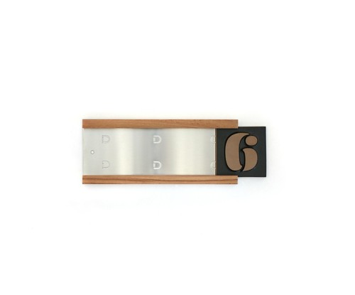 Heath-House-Number-Track-Eames-3-Teak-Stainless-Back-HNT-002-731by607_7